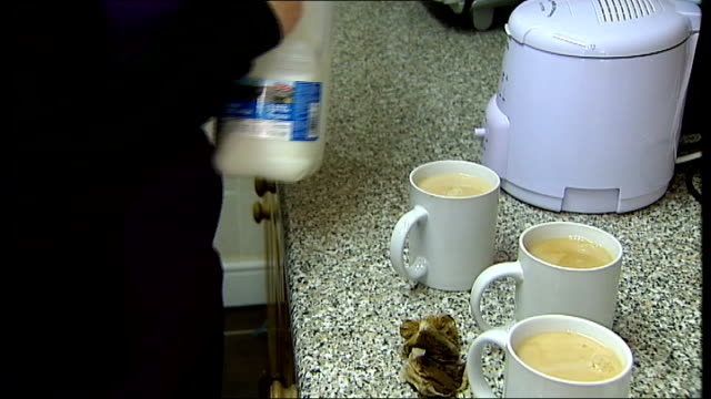 study finds child asylum seekers being denied basic protection in britain meltem avcil making cup of tea - tea cup stock videos and b-roll footage