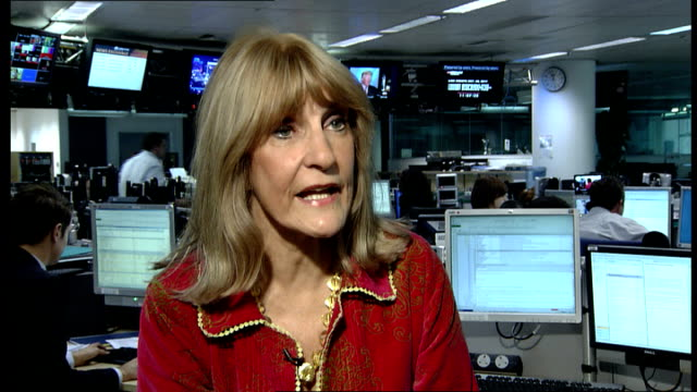 study show aspirin could cut risk of hereditary bowel cancer london lynn faulds wood interview sot - lynn faulds stock videos & royalty-free footage