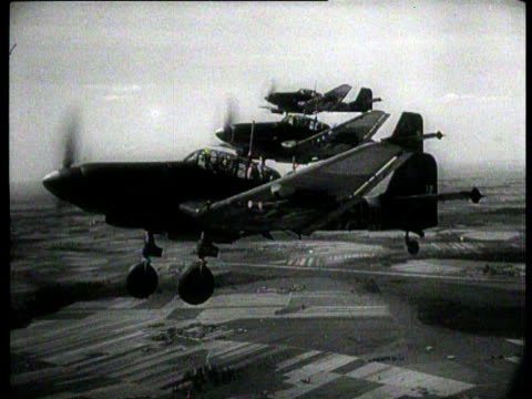 stuka's from the german luftwaffe attack russian refueling columns at the eastern front - luftwaffe stock videos and b-roll footage