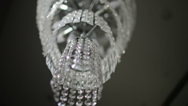a stunning chandelier - luxury stock videos & royalty-free footage