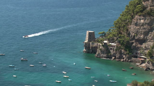 stunning italy, bay of amalfi coast - amalfi stock videos and b-roll footage