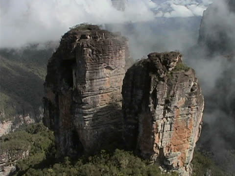 Stunning rock towers