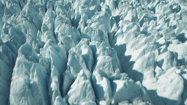 stunning shot of patagonian glacier - patagonia chile stock videos and b-roll footage
