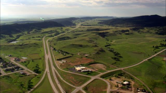 Sturgis - luchtfoto - South Dakota, en valt bestuurlijk Meade County