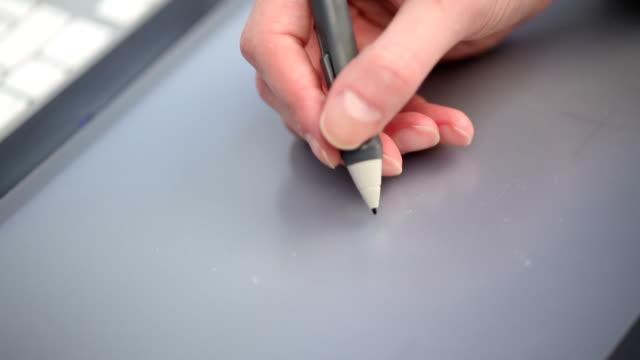 スタイラス - ペン点の映像素材/bロール