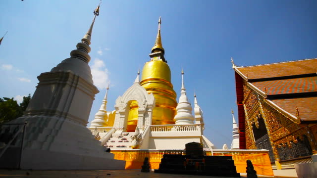 Suan Dok Buddhist Temple in Chiang Mai Thailand