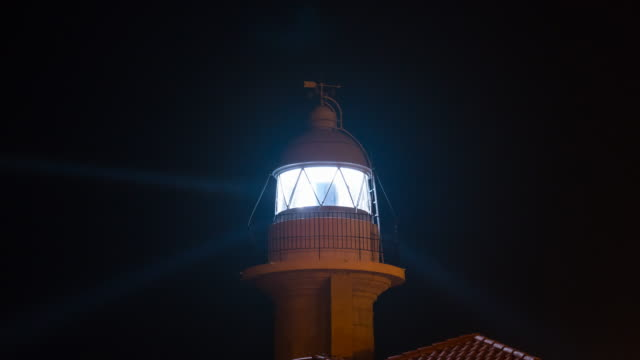 Suances Lighthouse, Suances, Cantabrian Sea, Cantabria, Spain, Europe