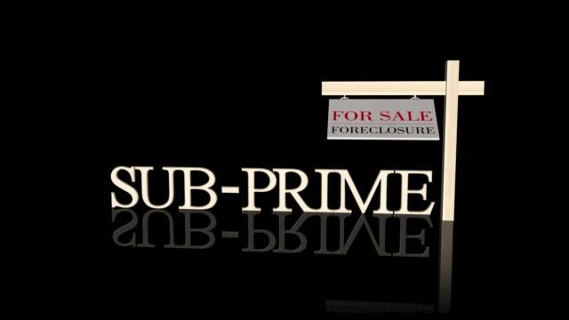 Sub prime morgage crises + matte
