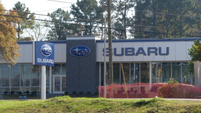 subaru dealership at chattanooga, tennessee - subaru stock videos & royalty-free footage