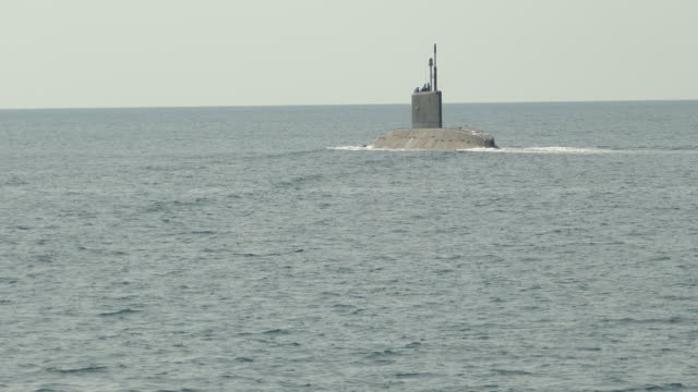submarine at sea - military exercise stock videos and b-roll footage