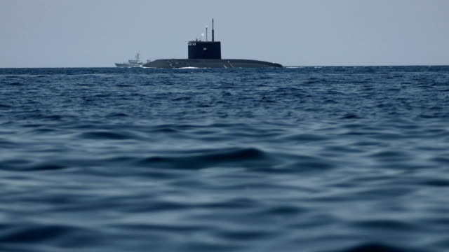 submarine for naval exercises - submarine stock videos and b-roll footage