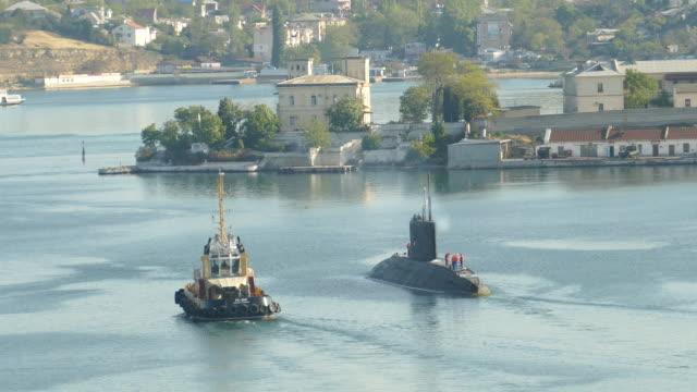 "submarine  project ""black hole"" - sevastopol crimea stock videos and b-roll footage"
