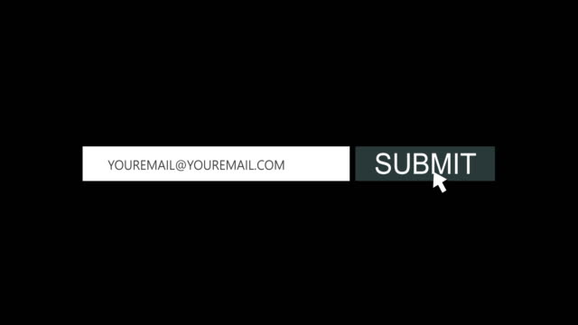 submit button animation, 4k video - enter key stock videos & royalty-free footage