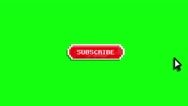 subscribe and bell button - following stock videos & royalty-free footage