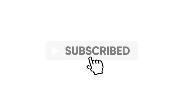 subscribe button - organised group stock videos & royalty-free footage