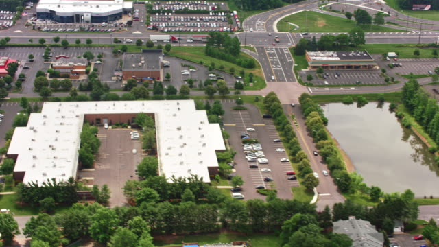 aerial suburban area - new jersey stock videos & royalty-free footage