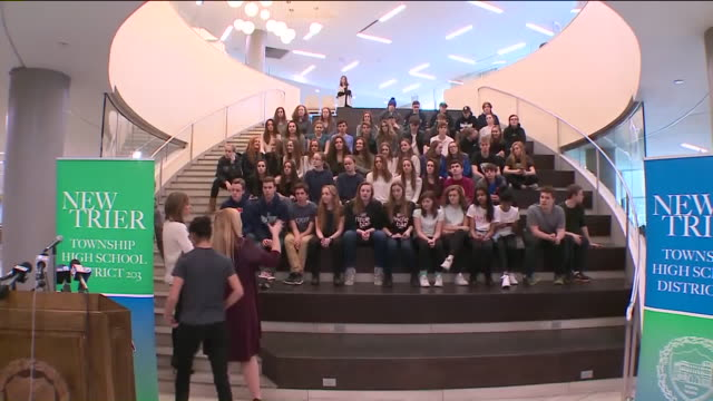 WGN A suburban high school New Trier High School in Winnetka Illinois earned two Guinness World Records for having the most twins and most multiples...