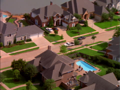 Suburban housing development