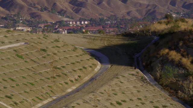 ws suburban landscape, palmdale, california, usa - palmdale stock videos and b-roll footage