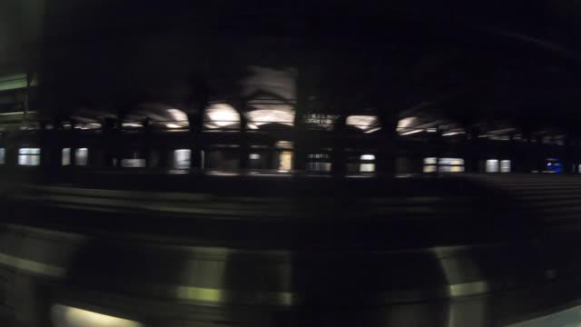 vidéos et rushes de métro flou - voie ferrée