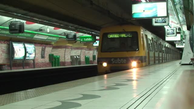 Subway (Subte) - Buenos Aires, Argentina