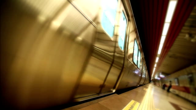 Subway in motion HD