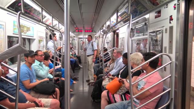 #7 Subway Interior, New York City