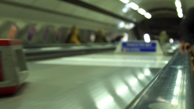 Subway Metro Escalator
