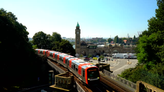 vídeos y material grabado en eventos de stock de n de u-bahn en hamburgo, en tiempo real - metro transporte