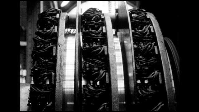 1966 nyc subway power supply system - electrical component stock videos & royalty-free footage