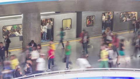 stockvideo's en b-roll-footage met subway - sao paulo - commercieel landvoertuig