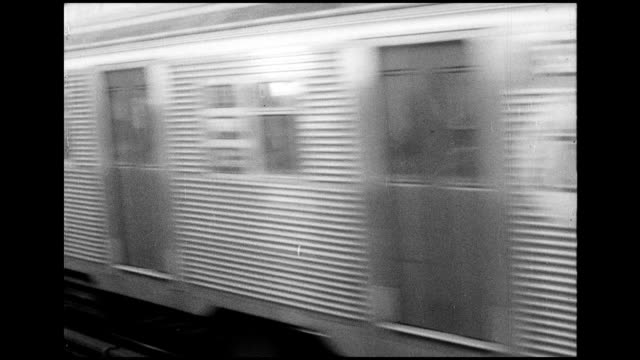 1966 nyc subway system - 1966 stock videos and b-roll footage