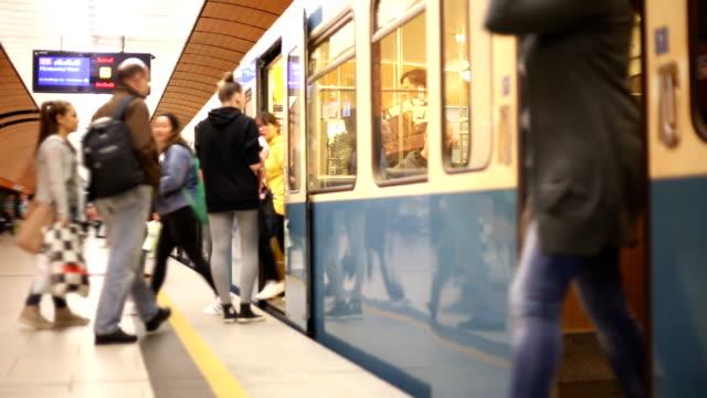 Subway train in Munich