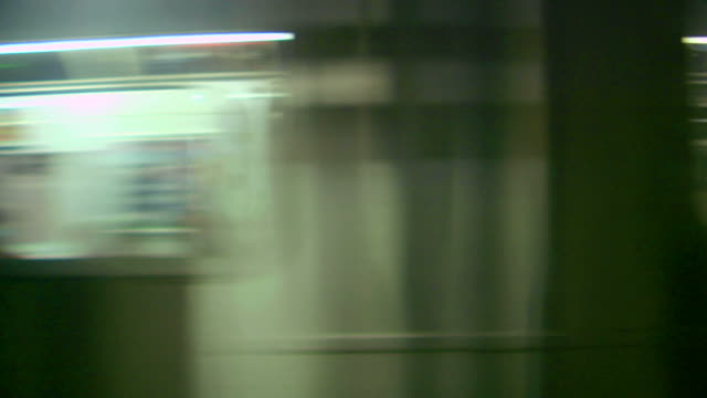 subway train. loop-able - underground rail stock videos & royalty-free footage