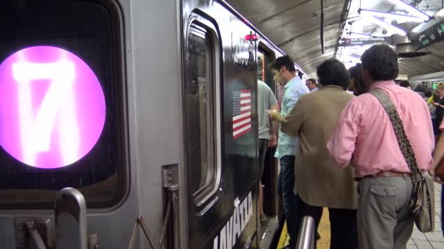 POV, Subway #7 Train, New York City