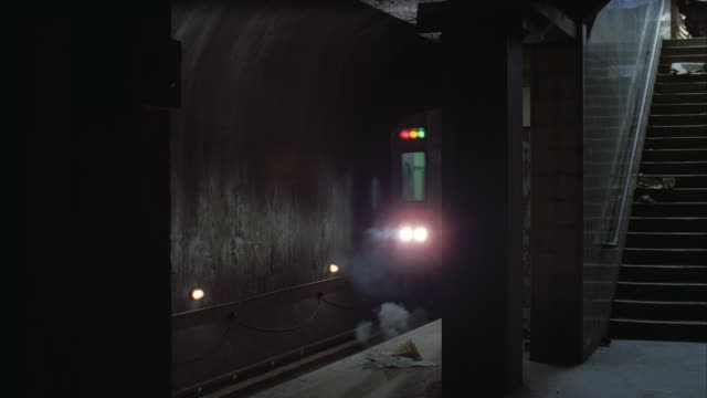 cu zi subway train passing through station - interior stock videos & royalty-free footage