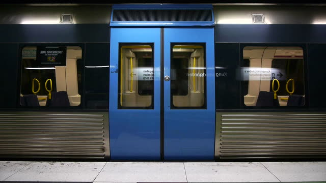 subway train - door stock videos & royalty-free footage