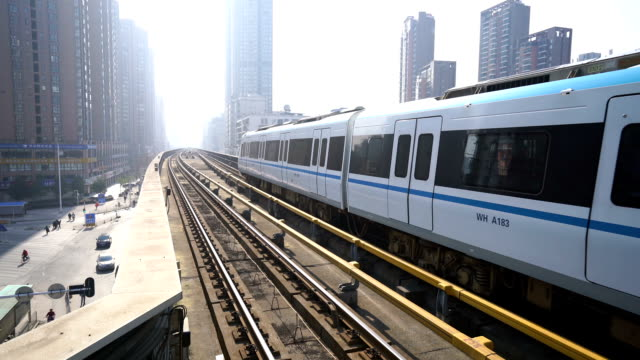 subway train - monorail stock videos & royalty-free footage