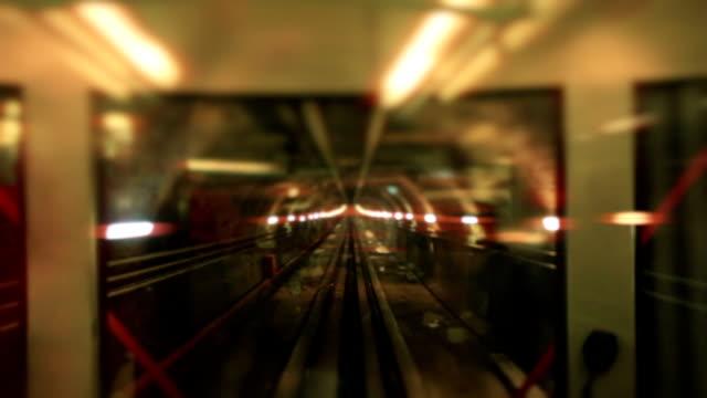 地下鉄のトンネル