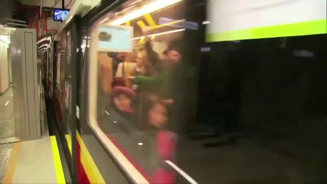 subway - warsaw stock videos & royalty-free footage
