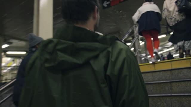 subway wanderlust - station stock videos & royalty-free footage