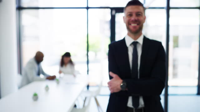 success comes naturally to him - employee stock videos & royalty-free footage