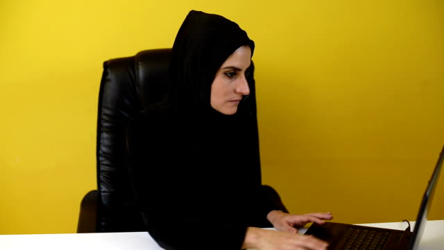 success of muslim women in office - cheerful stock videos & royalty-free footage