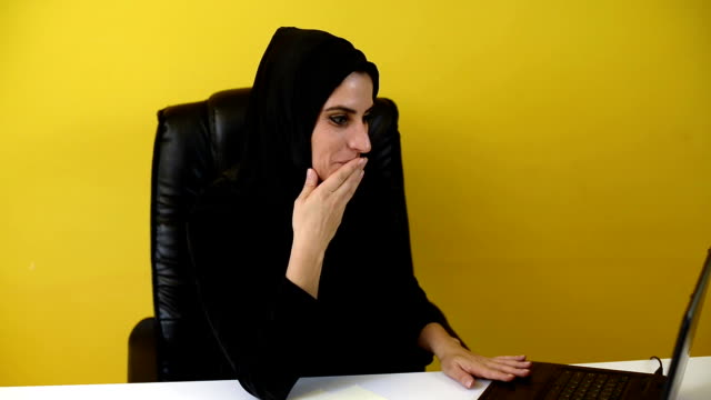 success of muslim women in office - chairperson stock videos and b-roll footage