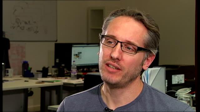 success of streaming service netflix nick astor interview sot - netflix stock videos & royalty-free footage