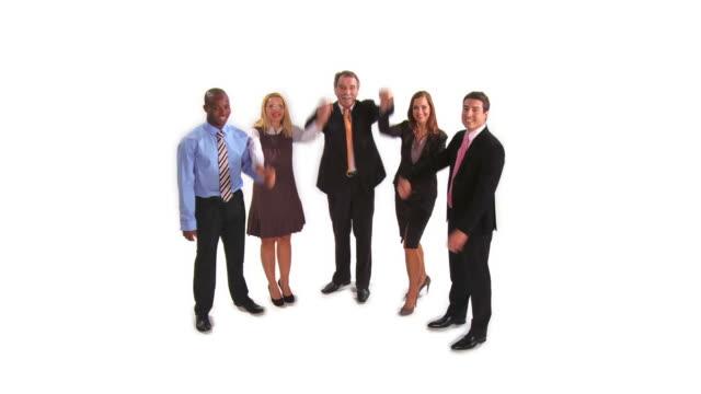 HD: Erfolgreichen Business-Team