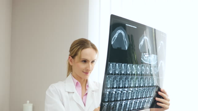 successful dental x-ray exam - radiologist stock videos and b-roll footage