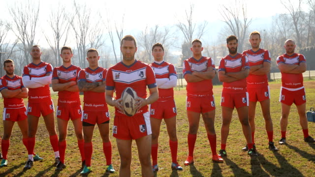 successful rugby team - drive ball sports stock videos & royalty-free footage