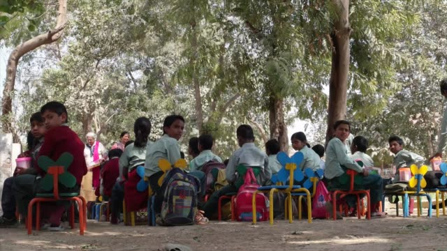 such schools provide children a formal education and a protective environment most of the students here are first generation learners with their... - haryana stock videos & royalty-free footage