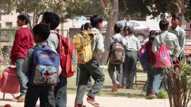 such schools provide children a formal education and a protective environment most of the students here are first generation learners with their... - haryana stock-videos und b-roll-filmmaterial